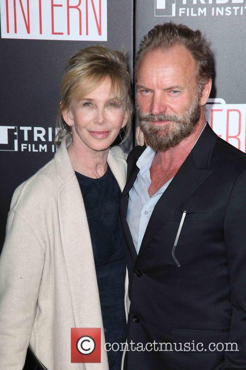 Trudie Styler, Sting and Gordon Sumner 1