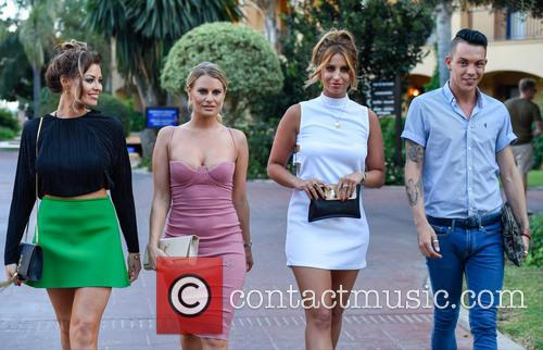 Jessica Wright, Danielle Armstrong, Ferne Mccann and Bobby Norris 1