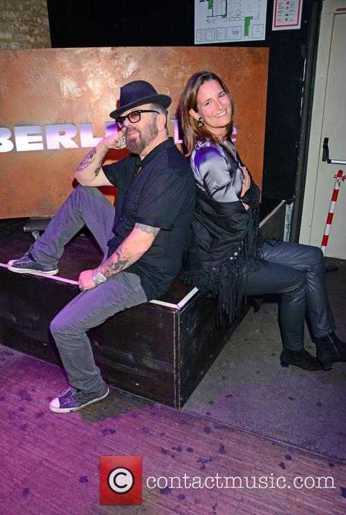 Dave Stewart and Tita Von Hardenberg 2