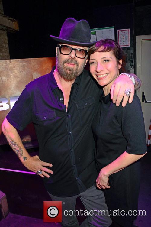 Dave Stewart and Nina Fiva Sonnenberg 1