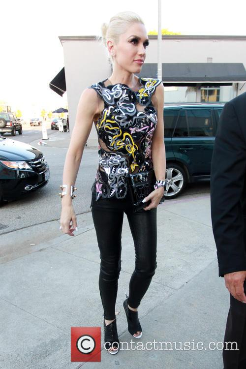 Gwen Stefani at cake Mix in West Hollywood
