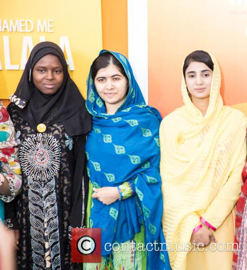 Malala Yousafzai  ( In Blue ) 2