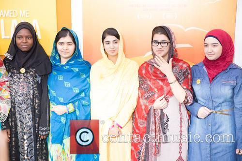 Malala Yousafzai  ( In Blue ) 3