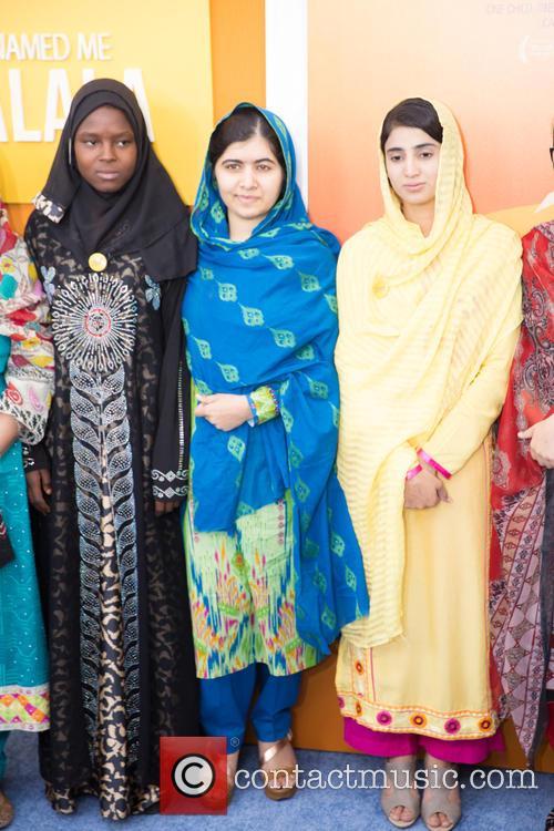Malala Yousafzai  ( In Blue ) 6