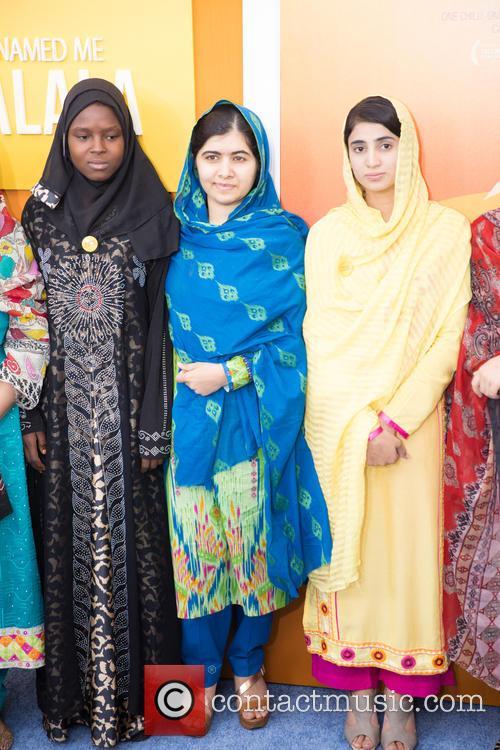 Malala Yousafzai  ( In Blue ) 7