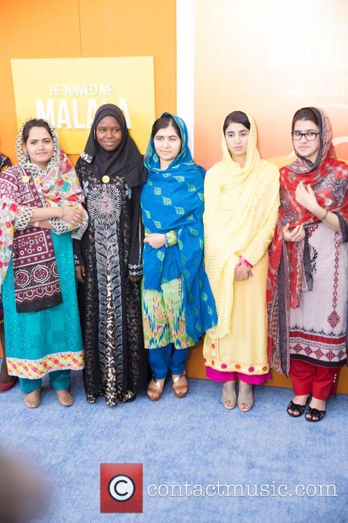 Malala Yousafzai  ( In Blue ) 8
