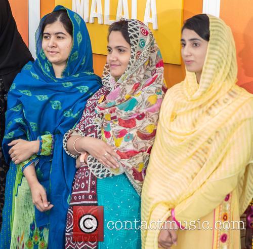 Malala Yousafzai  ( In Blue ) 1