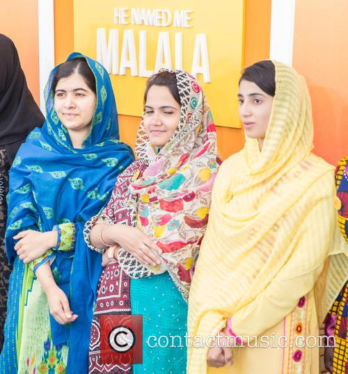 Malala Yousafzai  ( In Blue ) 9