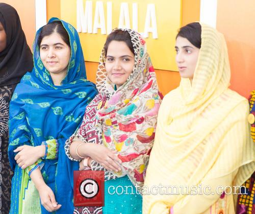Malala Yousafzai  ( In Blue ) 10