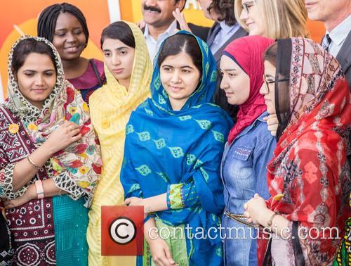 Malala Yousafzai  ( In Blue ) 11