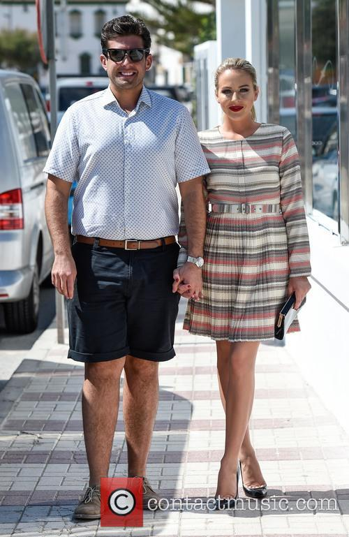 Lydia Bright and James Argent 2