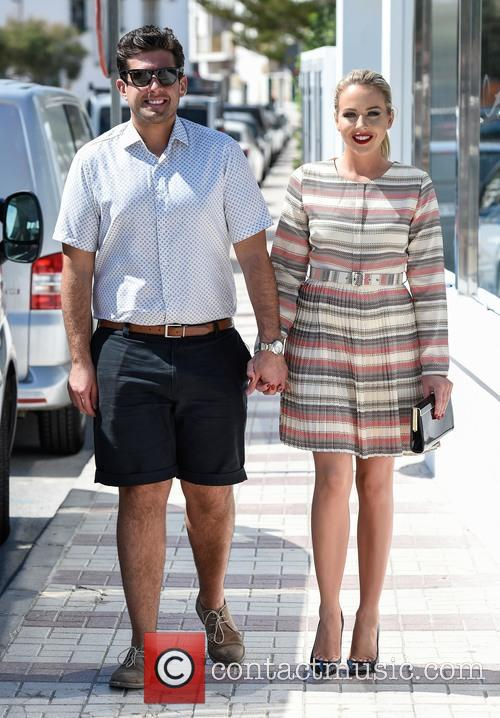 Lydia Bright and James Argent 6