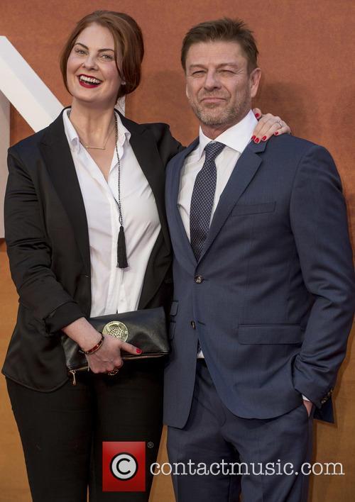 Ashley Moore and Sean Bean 1