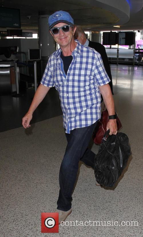 Martin Short departs from Los Angeles International Airport