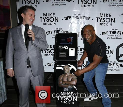 Peter Lkamka and Mike Tyson 1
