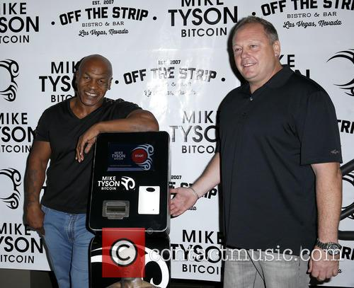 Mike Tyson and Tom Goldsbury 5