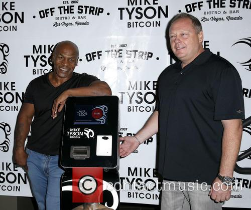 Mike Tyson and Tom Goldsbury 1