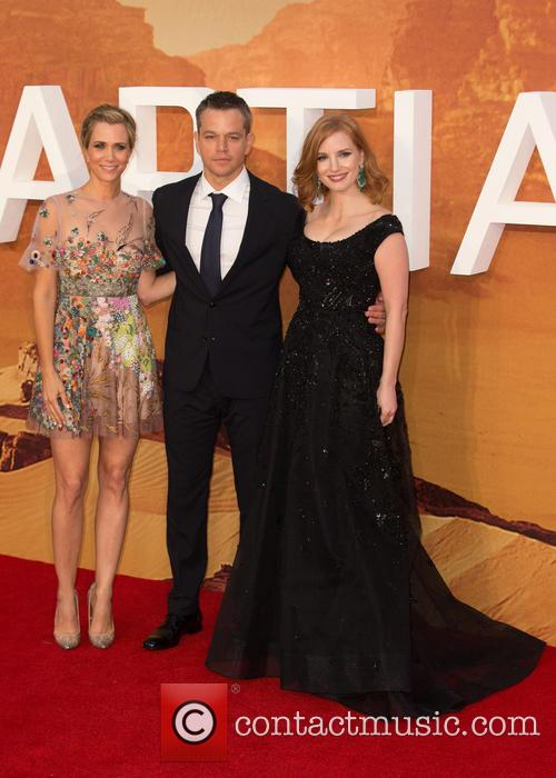 Kristen Wiig, Matt Damon and Jessica Chastain 3