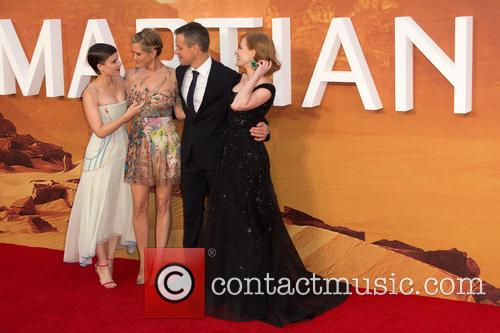 Kristen Wiig, Matt Damon, Jessica Chastain and Kate Mara 2