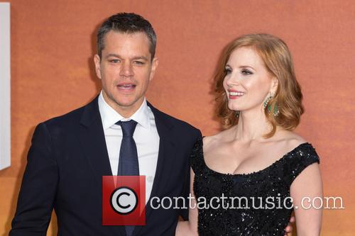 Matt Damon and Jessica Chastain 1