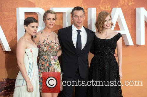 Kristen Wiig, Kate Mara, Matt Damon and Jessica Chastain 2