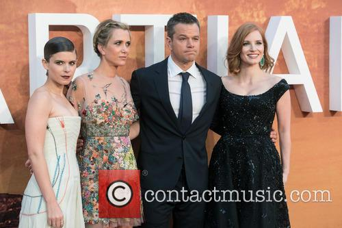 Kristen Wiig, Kate Mara, Matt Damon and Jessica Chastain 3
