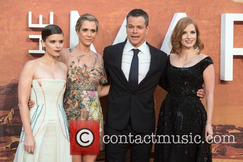 Kristen Wiig, Kate Mara, Matt Damon and Jessica Chastain 4