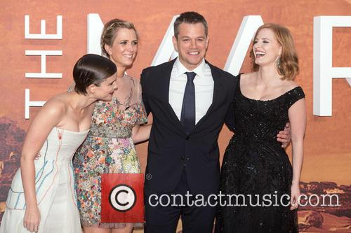 Kristen Wiig, Kate Mara, Matt Damon and Jessica Chastain 1