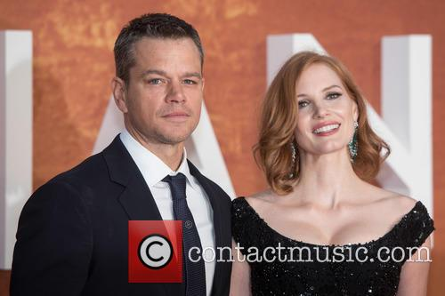 Matt Damon and Jessica Chastain 6
