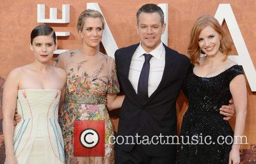 Matt Damon, Kristen Wiig, Jessica Chastain and Kate Mara 8