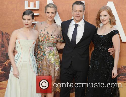Matt Damon, Kristen Wiig, Jessica Chastain and Kate Mara 10