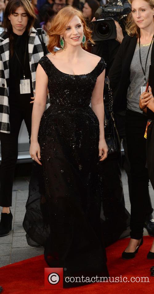 Matt Damon and Jessica Chastain 6