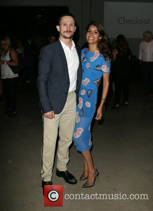 Jonathan Tucker and Tara Ahamed Tucker 2
