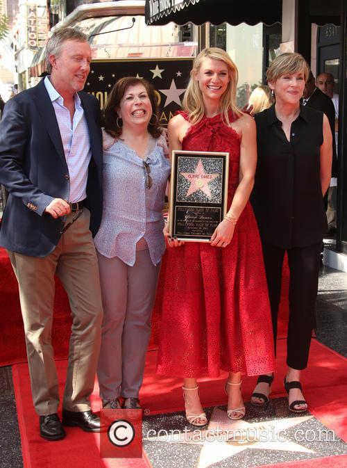 Alex Gansa, Winnie Holzma, Claire Danes and Bess Armstrong 3
