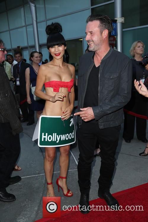 Bai Ling and David Arquette 2