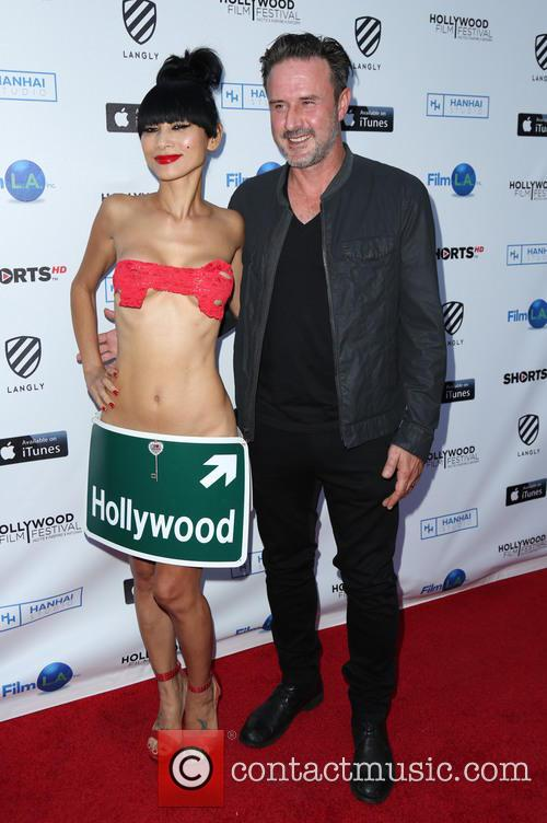 Bai Ling and David Arquette 3