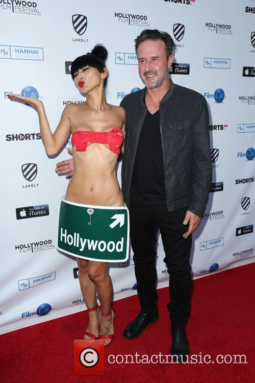 Bai Ling and David Arquette 4