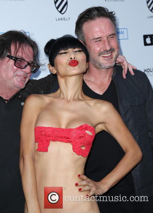 Bai Ling and David Arquette 5