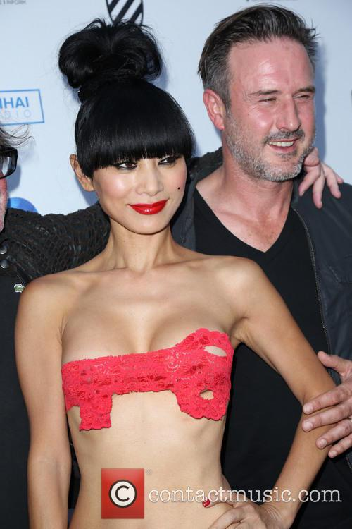 Bai Ling and David Arquette 1