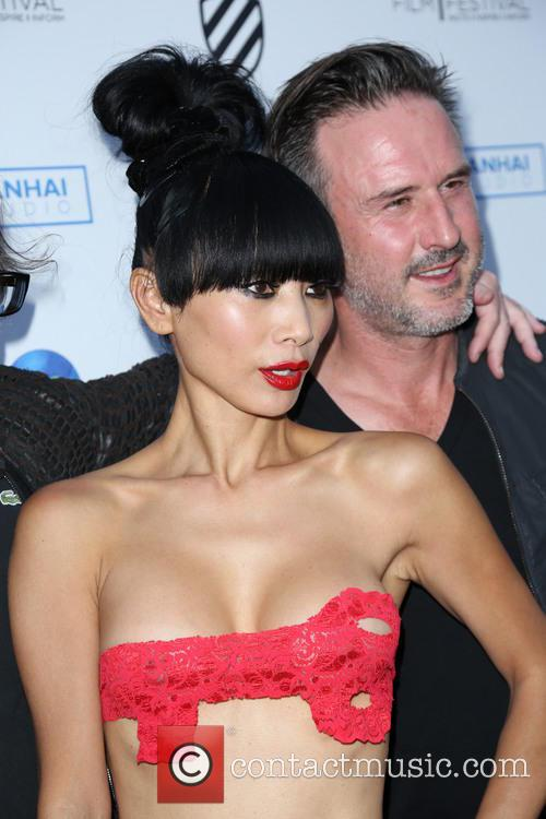 Bai Ling and David Arquette 6