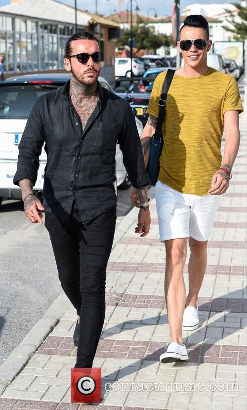 Bobby Norris and Peter Wick arrive at Olivia's...