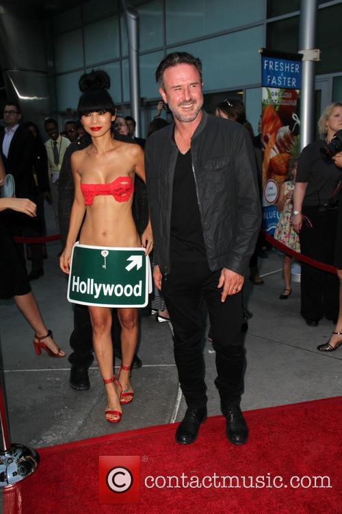 Bai Ling and David Arquette 2