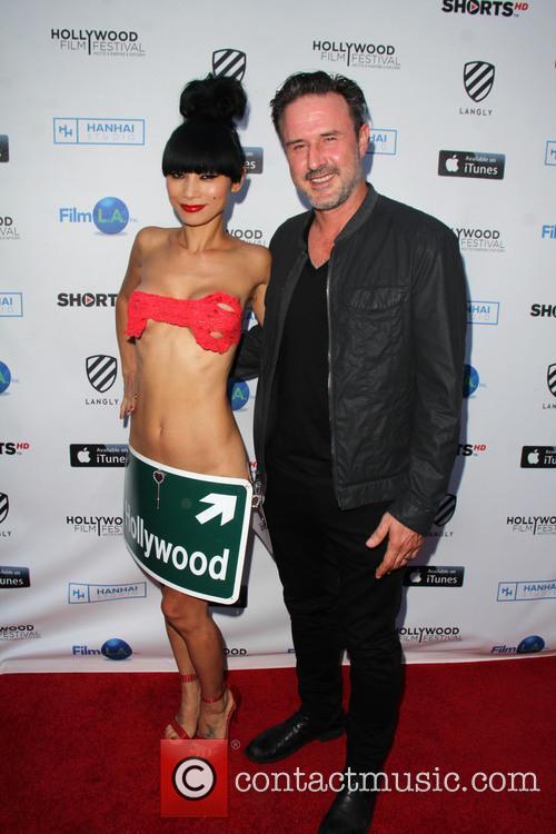 Bai Ling and David Arquette 3