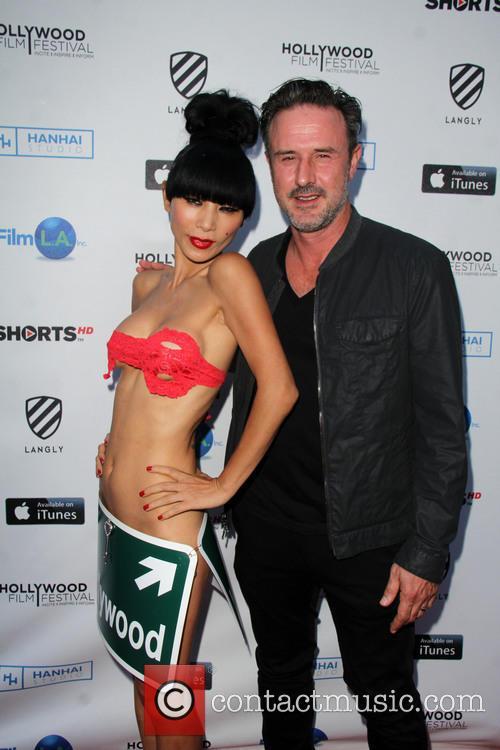 Bai Ling and David Arquette 6