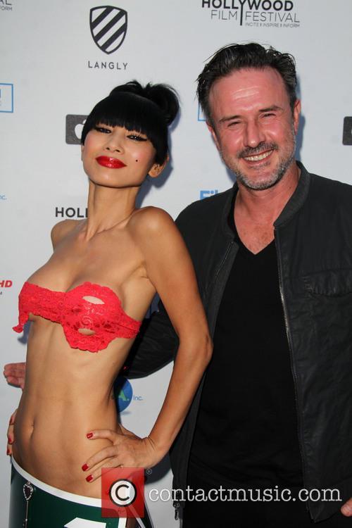 Bai Ling and David Arquette 1