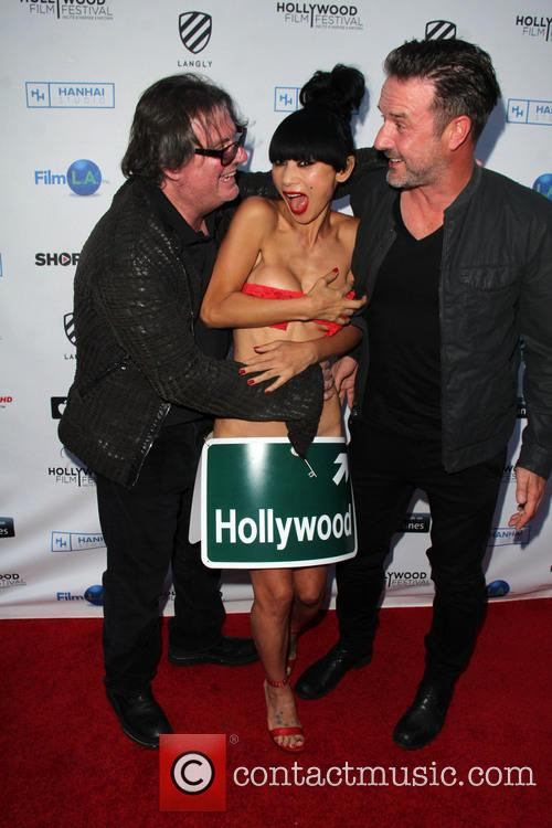 Jefery Levy, Bai Ling and David Arquette 3