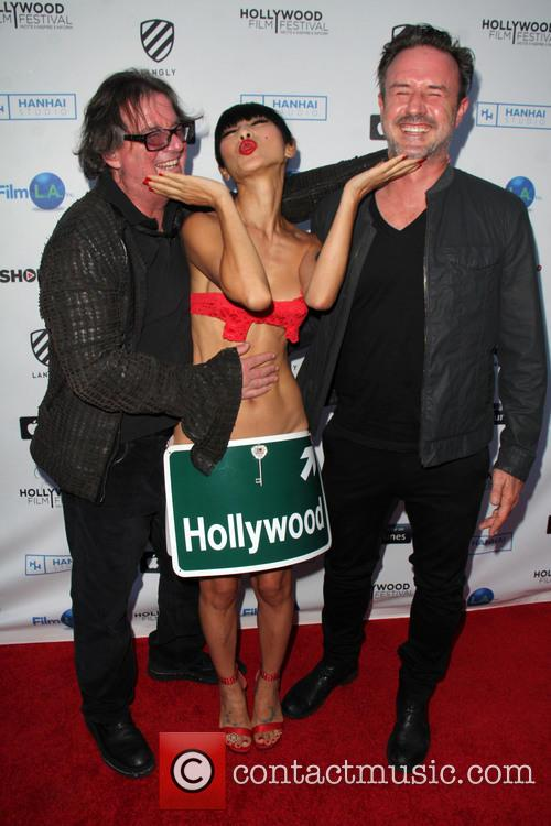 Jefery Levy, Bai Ling and David Arquette 4