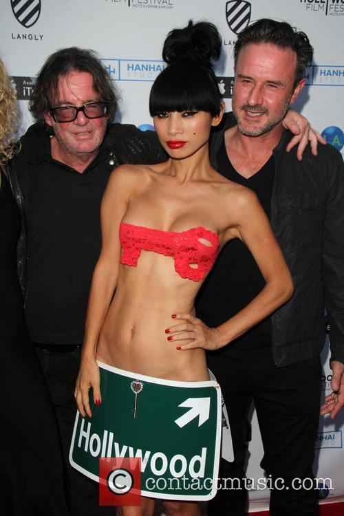 Jefery Levy, Bai Ling and David Arquette 5