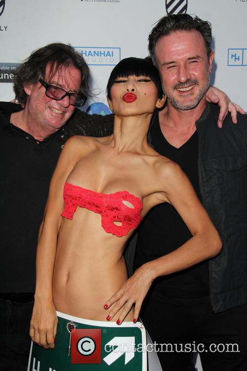 Jefery Levy, Bai Ling and David Arquette 1