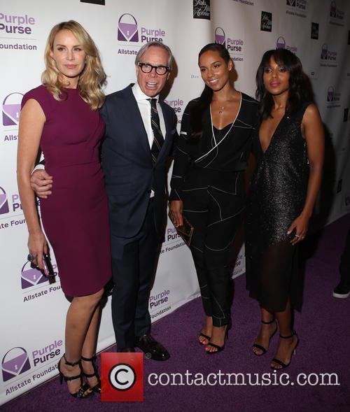 Dee Ocleppo, Tommy Hilfiger, Alicia Keys and Kerry Washington 1